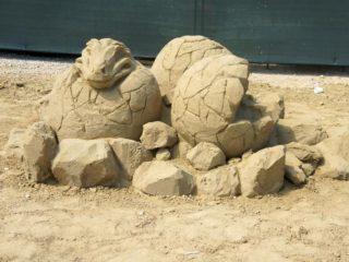 Sand & Time Первый фестиваль песчаных скульптур в Хорватии